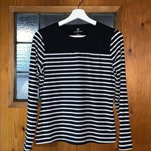 NWOT Lands' End Striped Topped